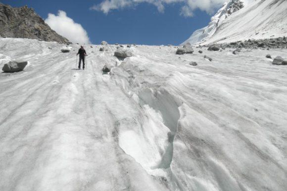 Подходы по леднику