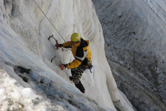 Вертикальный лед