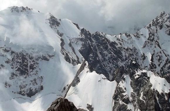 Гора, которая видна из коша