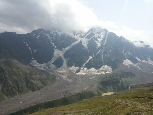Донгузорун, ледник Семерка