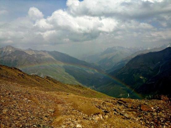 Радуга на Кавказе
