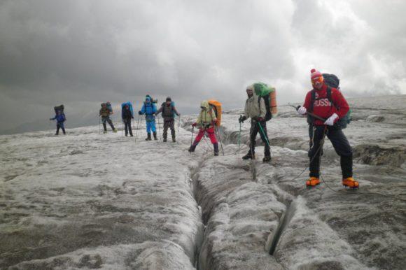 Переход на Приют 11-ти с ледовой базы