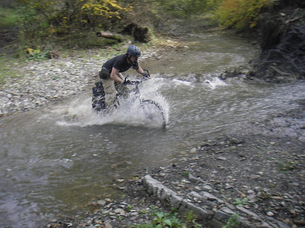 Пересекая реку