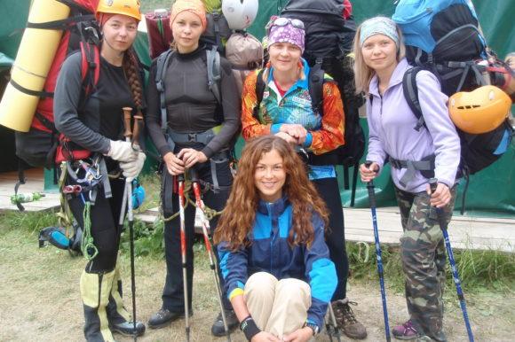 Альпинистки