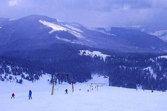 Лыжные трассы на Драгобрате