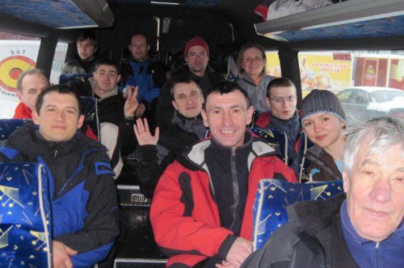 Команда горовосходителей, Карпаты 2010