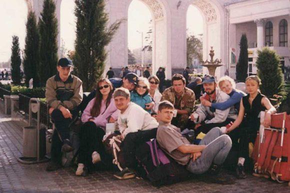 А в это время группа Папченкова...
