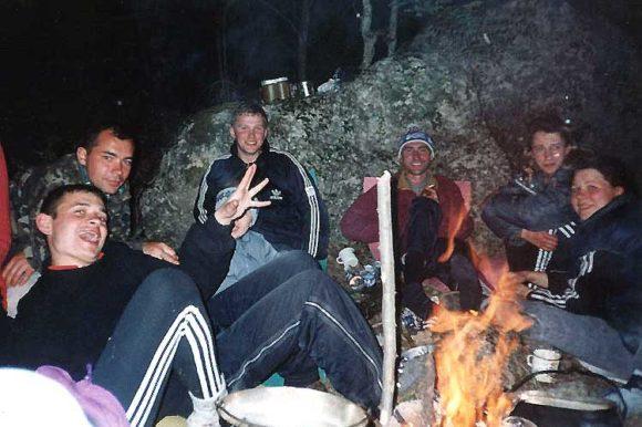 Ночевка в Чернореченском каньоне