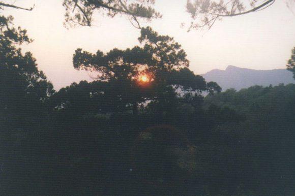 Закат над Сарычем