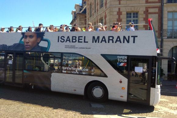 Автобусная экскурсия по Парижу