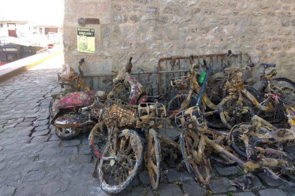 Утопленные велосипеды
